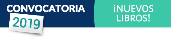 CONVOCATORIA 2019 ¡NUEVOS LIBROS!